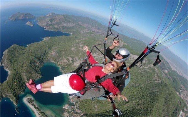 Tekirdağ Yamaç Paraşütü Klubü'nden Gökyüzünde Gezinme Şansı!
