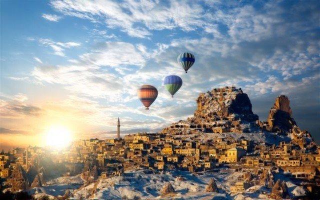 23 Nisan Dönemi 5 Yıldızlı Crystal Hotel'de Konaklamalı 3 Gece 4 Gün Muhteşem Kapadokya Turu